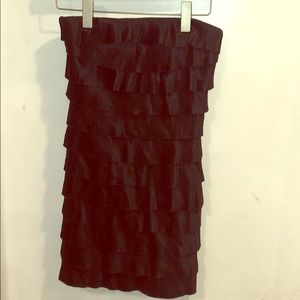 Express mini little black dress